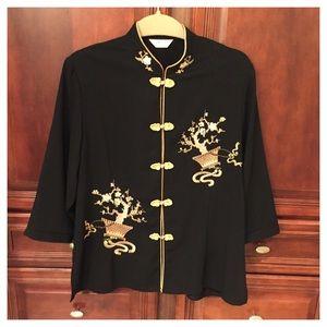 Jackets & Blazers - Vintage Oriental jacket